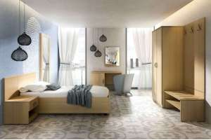 Мебель для гостиничного номера ЛДСП
