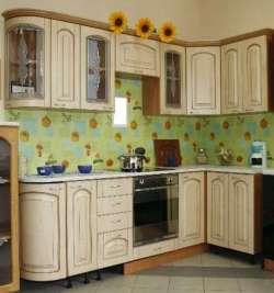 Кухонная мебель ЛДСП, фасады МДФ - матовая пленка ПВХ