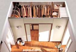 Устройство гардеробной комнаты из ЛДСП