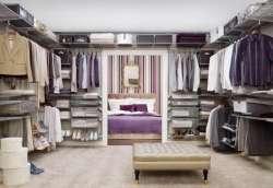 Гардеробная комната - ЛДСП-гардеробные системы